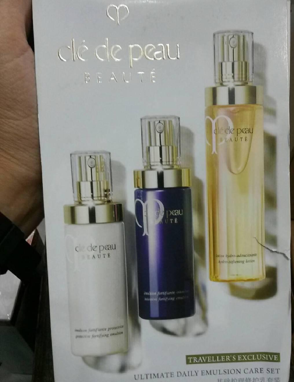 ลดราคาเหลือ 2 เซตสุดท้ายCle de peau beaute traveller exclusive ultimate daily emultion care set เซตบ 1