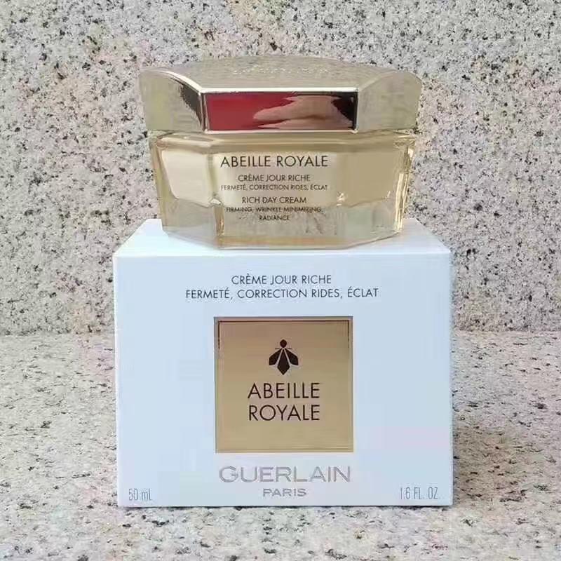 Guerlain abeille royale rich day creme 50 ml. ครีมบำรุงผิวหน้าล้ำลึกสำหรับกลางวัน
