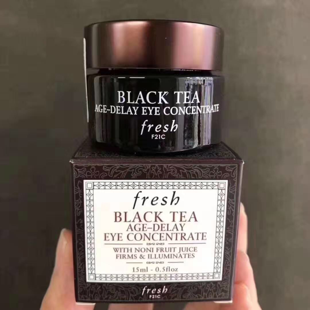 Black Tea Age-Delay Eye Concentrate15g.ครีมบำรุงผิวรอบด้วยตาสูตรเข้มข้น