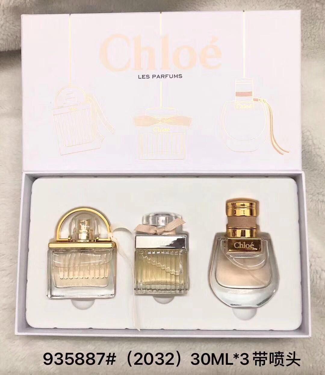น้ำหอมเทสเตอร์หัวฉีด Chloe Collection tester set กิ๊ฟเซ็ท 30ml.×3ชิ้นแพคกล่องของขวัญสวยหรู