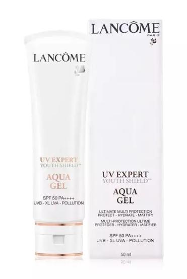 LANCÔME UV Expert XL-Shield Fresh UV Aqua Gel Spf 50 Pa++++ 50ml. กันแดดรุ่นใหม่ล่าสุด