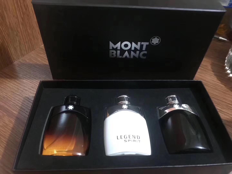 Mont blanc regend set 3 pcs.ขนาดขวดละ 30 ml. มี 3 ขวดในเซตพร้อมกล่องสวยหรู