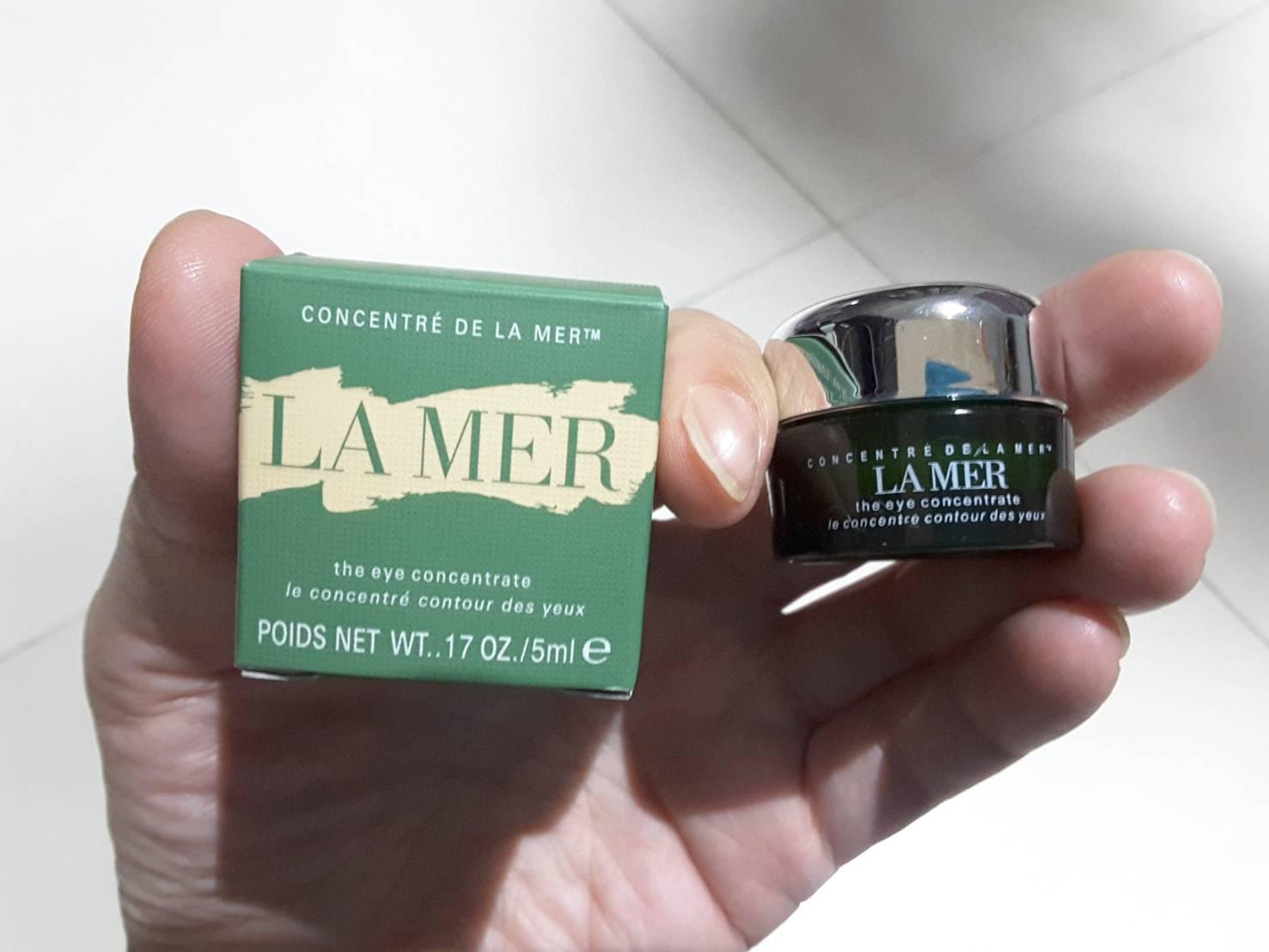 Lamer The Eye Concentrate ขนาดทดลอง 5 ml. แบบกระปุก (รุ่นกล่องซับด้านใน)