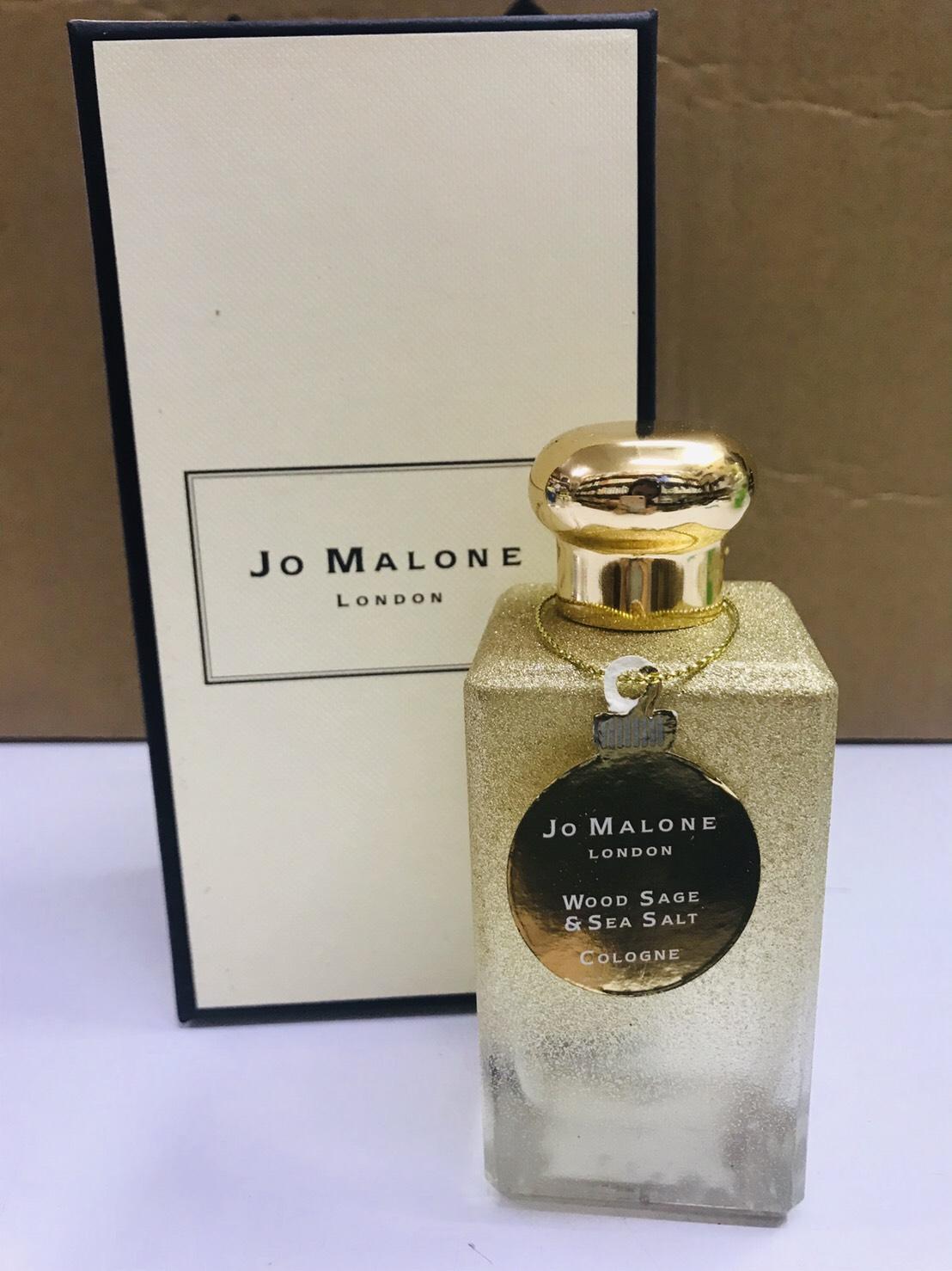 JO MALONE LONDON Wood Sage  Sea Salt Cologne  100ml. งานพร้อมกล่อง ขวดสีทองลิมิเต็ด