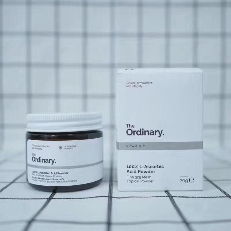 The Ordinary The Ordinary Vitamin C 100 L-Ascorbic Acid Powder 20g.วิตามินซีบริสุทธิ์รูปแบบผง
