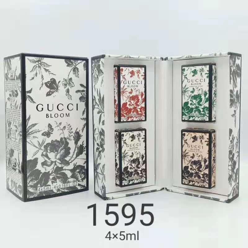 น้ำหอมเทสเตอร์ gucci bloom collection tester mini bottle 4*5ml.