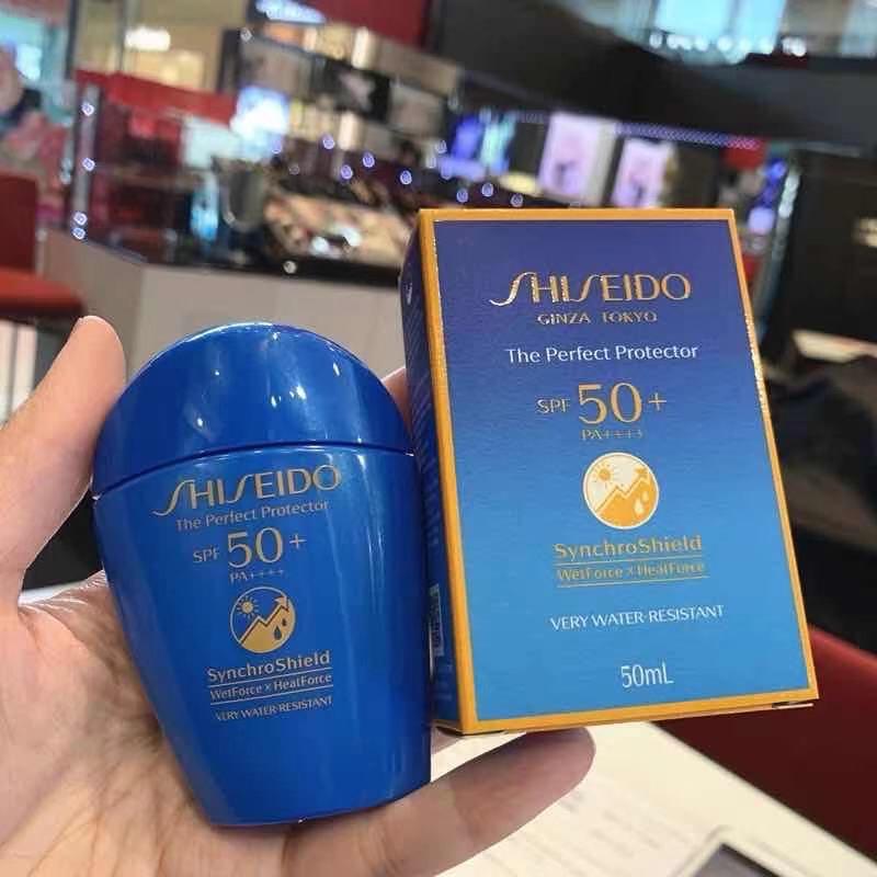 SHISEIDO The Perfect UV Protector S SPF 50+ Pa++++ ขนาด 50 มล. Ginza tokyo