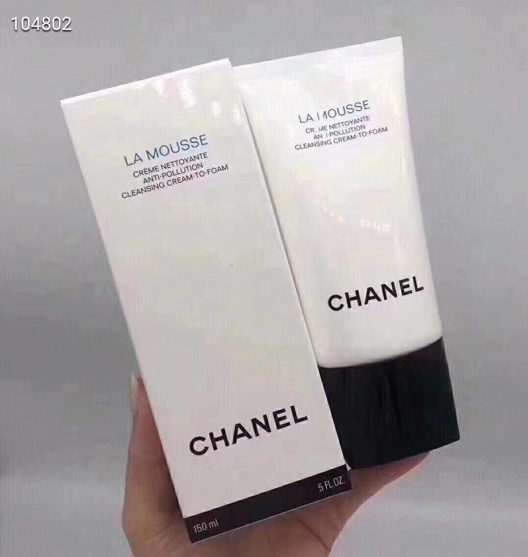 CHANEL La Mousse Anti-Pollution CleansingCream-To-Foam 150ml.ครีมทำความสะอาดผิวที่แปรเปลี่ยน