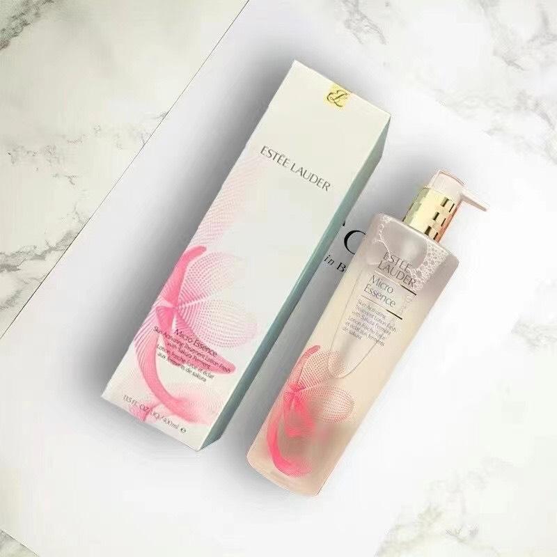 ESTĒE LAUDER Micro Essence Skin Activating Treatment Lotion Fresh with Sakura Ferment 400ml.ขวดปั้ม