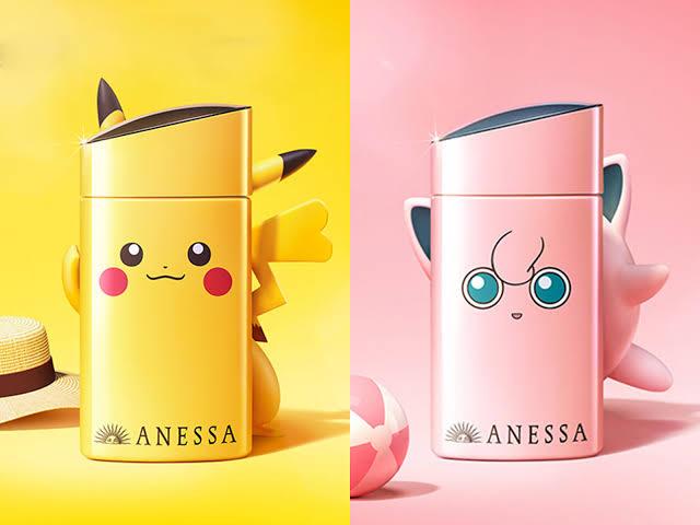 Shiseido Anessa Perfect UV Sunscreen Skincare milk SPF50+PA++++ ขนาด 60ml. แพคเกจลาย pokemon 1