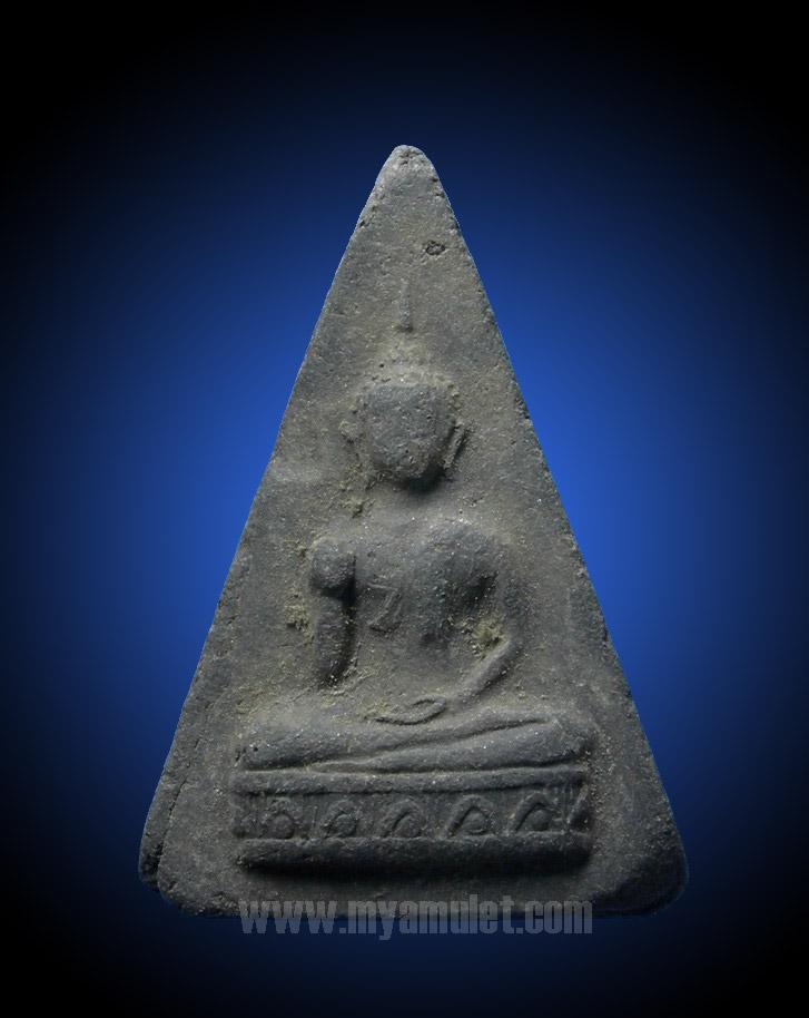 พระพุทธกวักสามเหลี่ยม อ.ชุม ไชยคีรี วัดพระบรมธาตุปี 2497