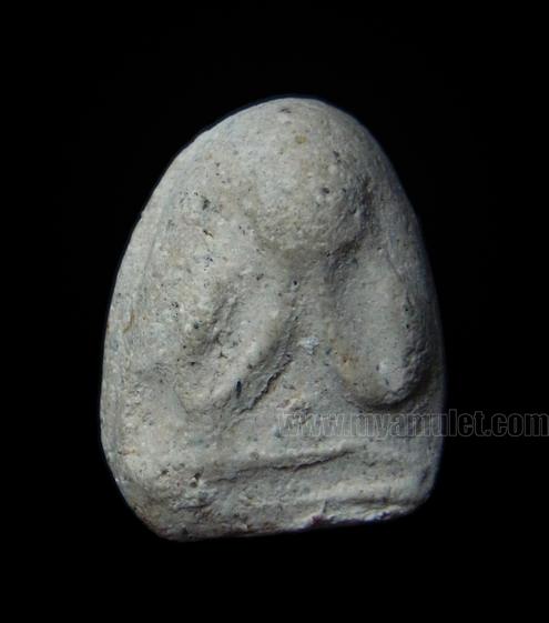พระปิดตา วัดประสาทฯ พิมพ์เล็ก เนื้อขาว ปี 2506