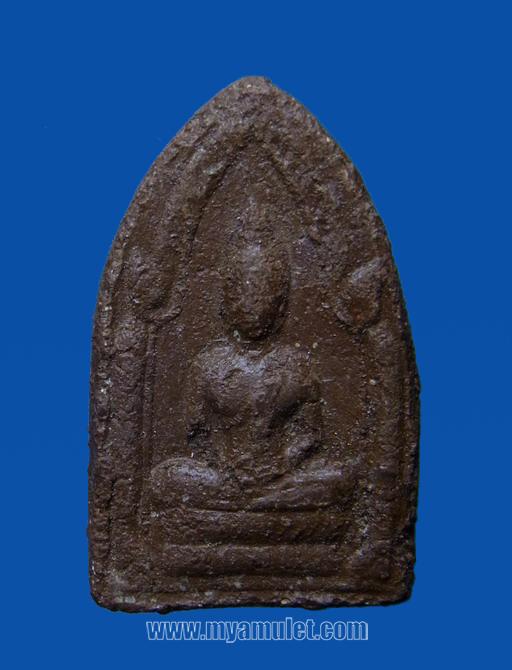พระขุนแผนพิมพ์เล็ก เนื้อแดง อ.ชุม หลวงปู่สุภา ปี 2506
