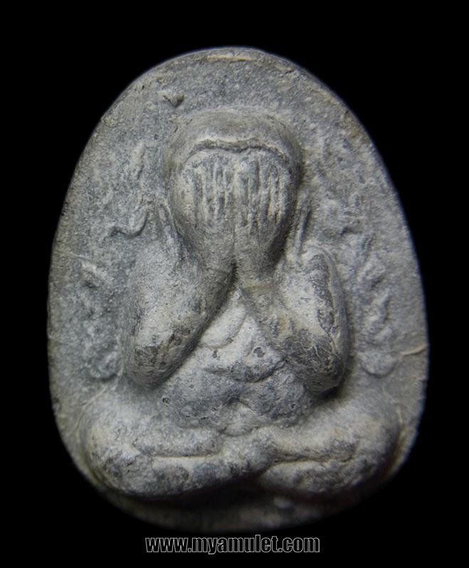 พระปิดตากนกข้าง เนื้อผงใบลาน หลวงปู่โต๊ะ ปี 2522
