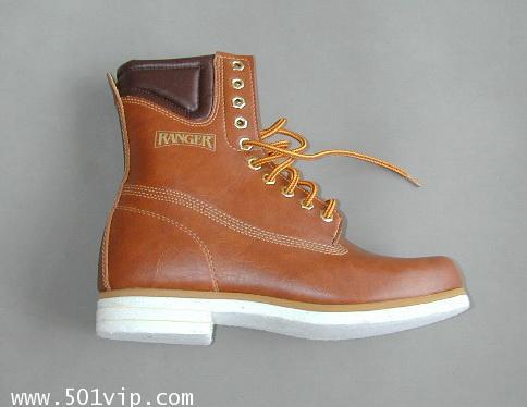 NEW boot RANGER สีน้ำตาล Taiwan ปี 1980 size 8.5 us หรือ 42.5 eu 3