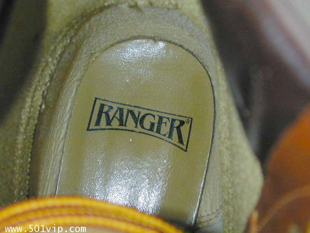 NEW boot RANGER สีน้ำตาล Taiwan ปี 1980 size 8.5 us หรือ 42.5 eu 10