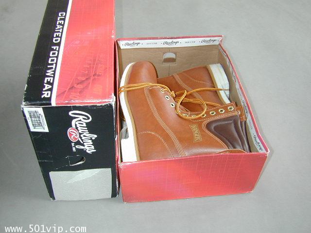 NEW boot RANGER สีน้ำตาล Taiwan ปี 1980 size 8.5 us หรือ 42.5 eu 11