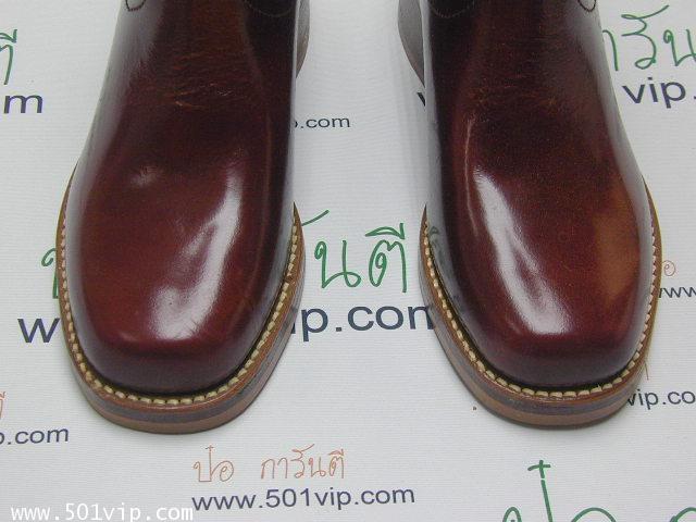 New boot levis หนังแก้ว made in USA ปี 1980 ไซส US 7 หรือ EUR 40 2