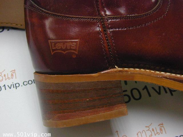 New boot levis หนังแก้ว made in USA ปี 1980 ไซส US 7 หรือ EUR 40 4