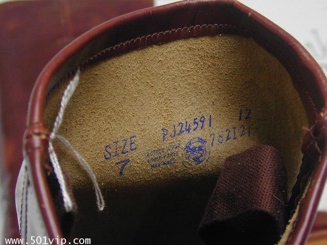 New boot levis หนังแก้ว made in USA ปี 1980 ไซส US 7 หรือ EUR 40 7