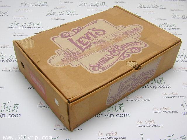 New boot levis หนังแก้ว made in USA ปี 1980 ไซส US 7 หรือ EUR 40 9