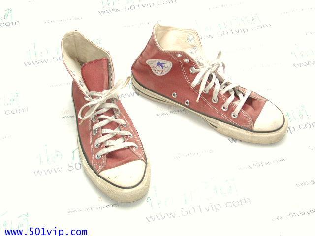 Used Converse สี แดง made in USA ปี 1990 เบอร 9