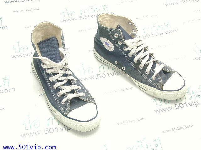 เหมือนใหม่ Converse สี น้ำเงิน made in USA ปี 1990 เบอร 8