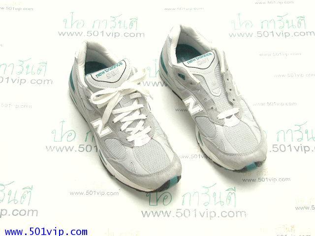 เหมือนใหม่ New balance 991 เทา Running made in USA หลังปี 2000 เบอร 9 .5 D