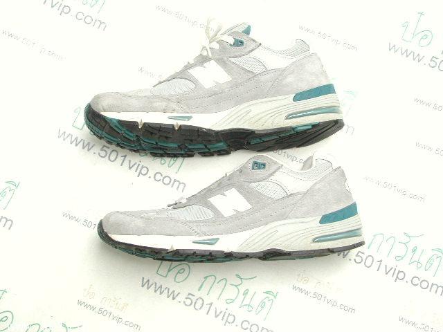 เหมือนใหม่ New balance 991 เทา Running made in USA หลังปี 2000 เบอร 9 .5 D 2