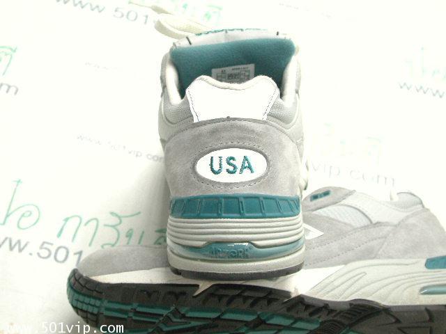 เหมือนใหม่ New balance 991 เทา Running made in USA หลังปี 2000 เบอร 9 .5 D 3