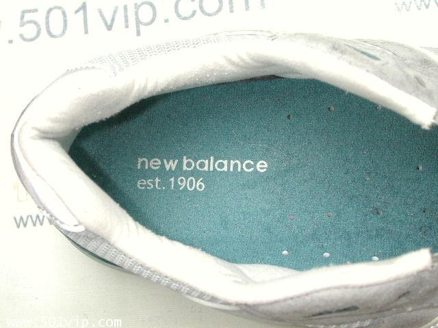 เหมือนใหม่ New balance 991 เทา Running made in USA หลังปี 2000 เบอร 9 .5 D 5