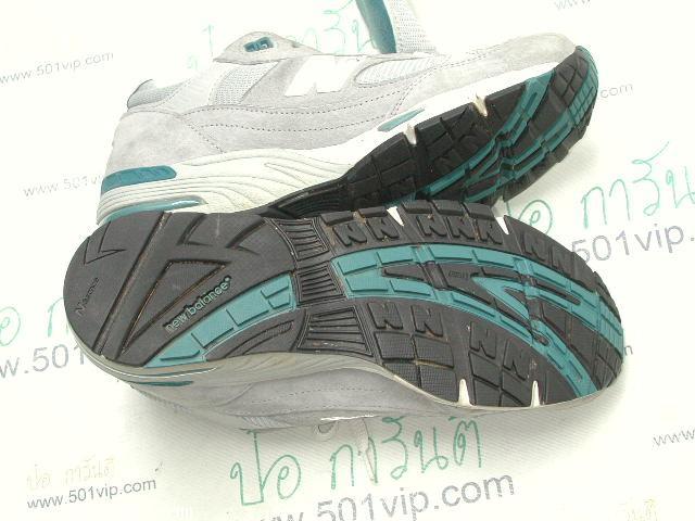 เหมือนใหม่ New balance 991 เทา Running made in USA หลังปี 2000 เบอร 9 .5 D 6