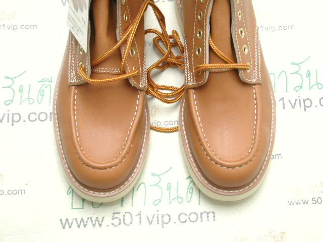 New Roebucks Spice tan boot หนัง made in China ปี 2000 size 8 .5 1