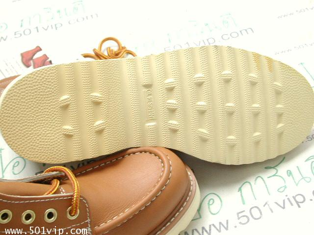 New Roebucks Spice tan boot หนัง made in China ปี 2000 size 8 .5 6