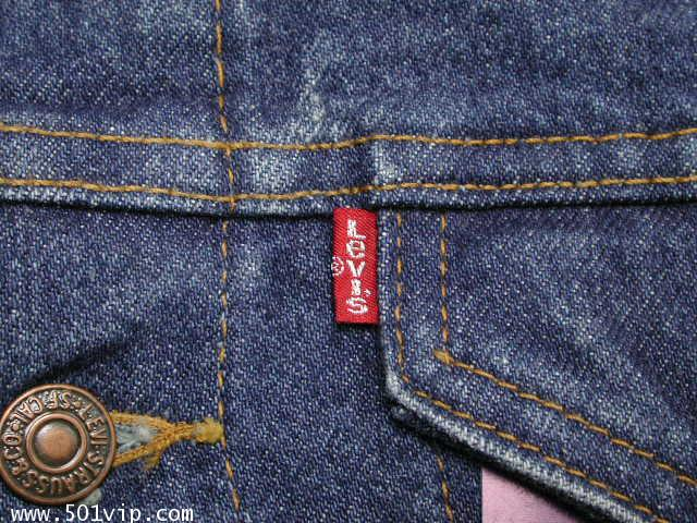 New ลีวาย Jacket 57508 0218  6กระเป๋า USA ปี 1998 ไซส XXS 3