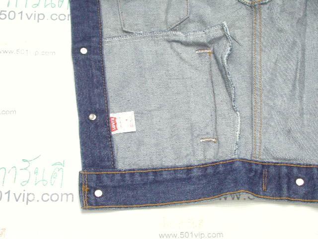 New ลีวาย Jacket 57508 0218  6กระเป๋า USA ปี 1998 ไซส XXS 4