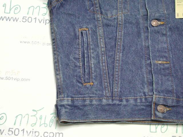 New ลีวาย Jacket 57508 0218  6กระเป๋า USA ปี 1998 ไซส XXS 6