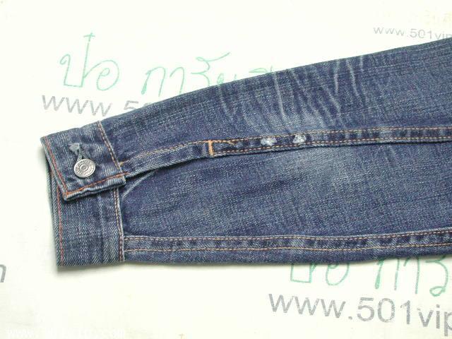 New ลีวาย Jacket big E เด็ก LVC 507 xx USA ปี 2006 ไซส 5 Y 6