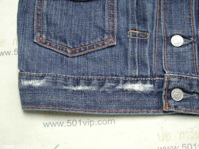 New ลีวาย Jacket big E เด็ก LVC 507 xx USA ปี 2006 ไซส 5 Y 7