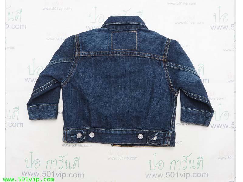 เหมือนใหม่ ลีวาย Jacket big E เด็ก LVC 507 xx USA ปี 2003 ไซส 1 Y 1
