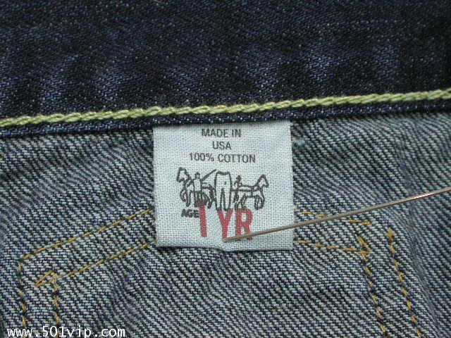 เหมือนใหม่ ลีวาย Jacket big E เด็ก LVC 507 xx USA ปี 2003 ไซส 1 Y 5
