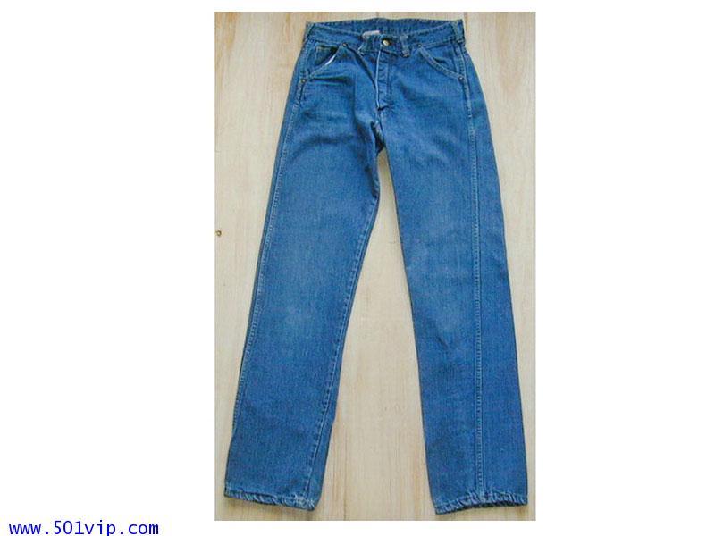 Used  ELY  ผ้าด้าน ขาตรง  USAปี 1970  เอว 30 .5 ยาว 32 .5