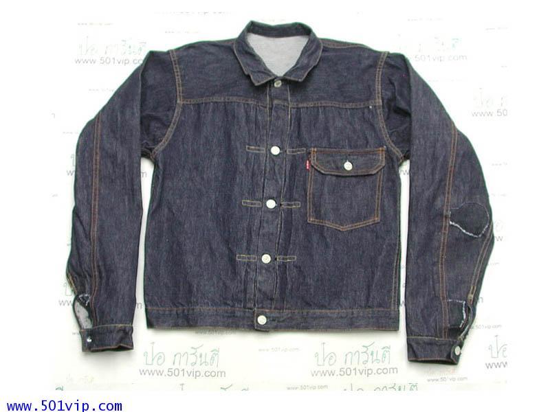 New ลีวาย ย้อนยุครุ่นปี 1937 jacket BIG E 506 XX USA ปี 2006 ไซส 40 หรือ M