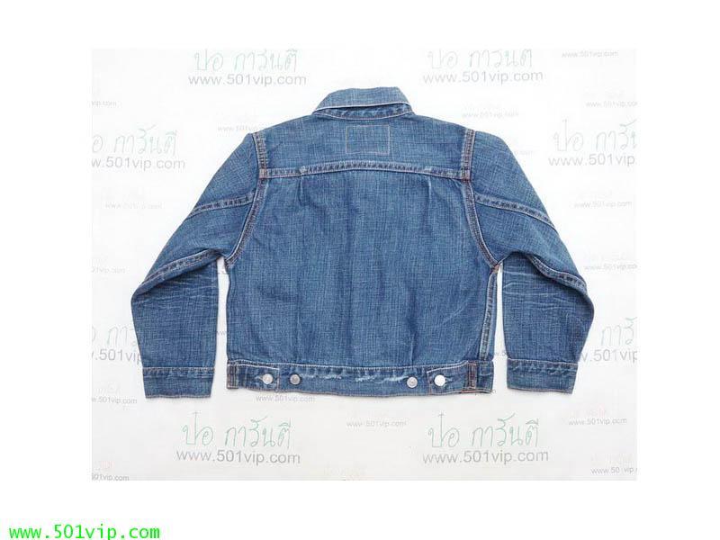 New ลีวาย Jacket big E เด็ก LVC 507 xx USA ปี 2006 ไซส 5 Y 1