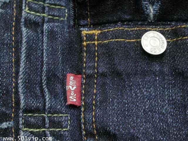 เหมือนใหม่ ลีวาย Jacket big E เด็ก LVC 507 xx USA ปี 2003 ไซส 1 Y 2