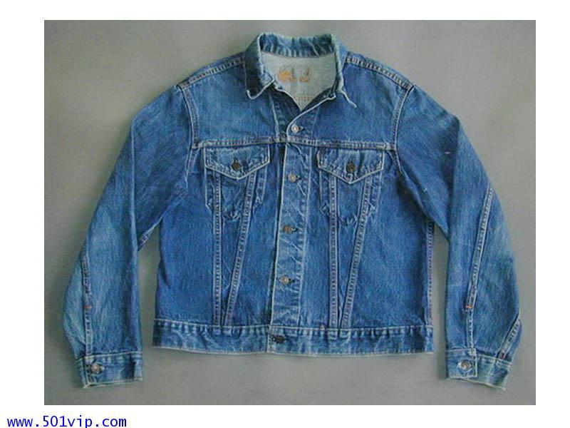 Used ลีวาย Jacket big E 70505 0217 USA ปี 1968 ไซส 42 หรือ L