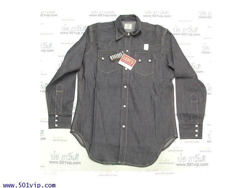 New shirt ลีวาย ย้อนยุคปี 1950 big E กระโหลก เขาสั้น ปี 2009 ไซส L ถึง XL