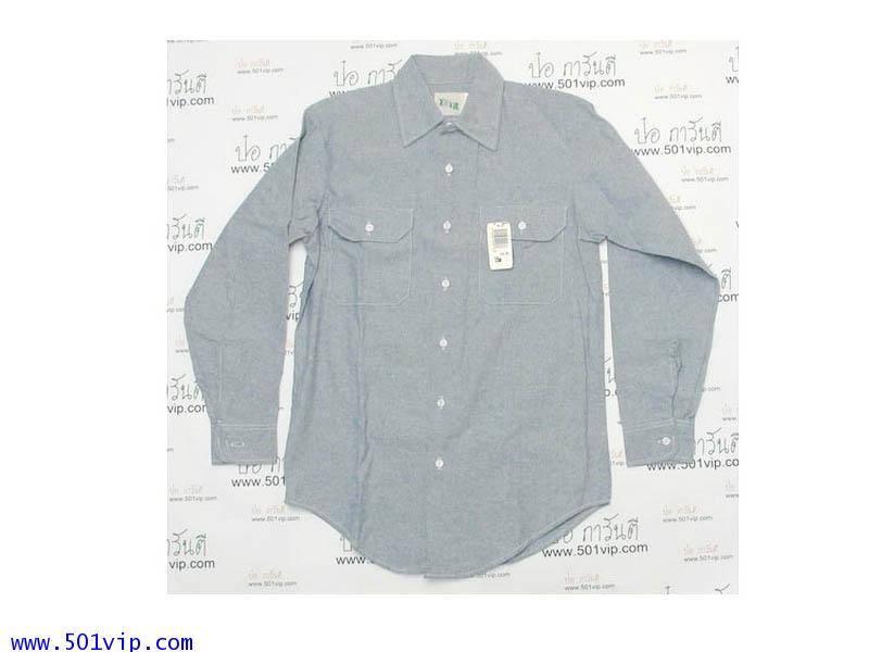 New shirt Key chambray made in usa  ไซส 15 หรือ M