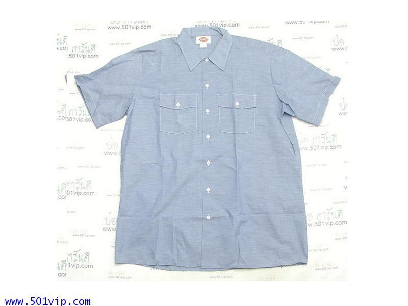 New shirt Chambray Dickies แขนสั้น USA ปี 1980 ไซส XL