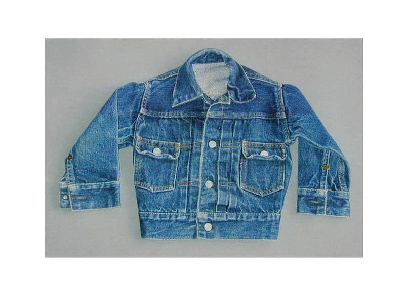 Used ลีวาย jacket BIG E 507 XX USA ปี 1955 ไซส 00 ตัวโชว์